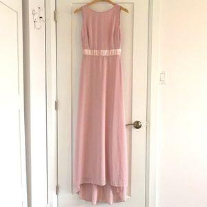 ASOS tnfc mauve bridesmaid dress